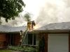 House Fire Caused by Lightning
