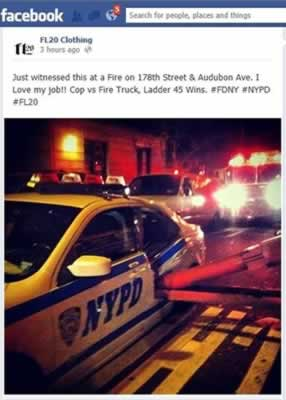 NYPD vs FDNY photo