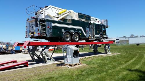 testing Rotary Lift new lift